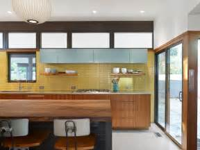 subway tile backsplash ideas for the kitchen 35 sensational modern midcentury kitchen designs