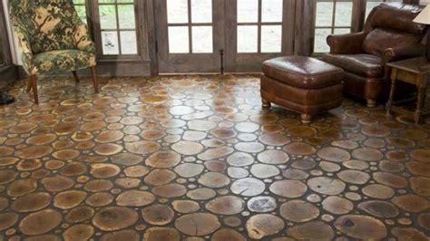 amazing log end wood floors and walls end grain log flooring youtube