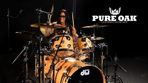 Introducing Dw Collector's Series Pure Oak Drums Featuring
