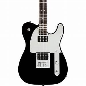 Squier J5 Telecaster Electric Guitar Black