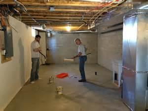 Unfinished Basement Floor Paint