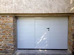 portes de garage fermelec With porte de garage enroulable avec porte coulissante pvc