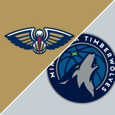 pelicans  timberwolves box score february