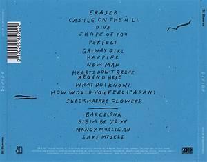 Ed Sheeran - Divide (2017) CD Cover & Label - CDcovers.io
