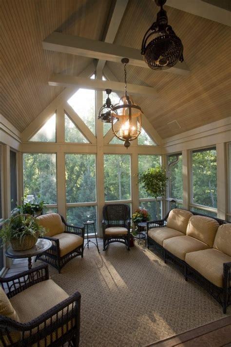 ceiling fan for screened porch 28 dreamy attic sunroom design ideas digsdigs