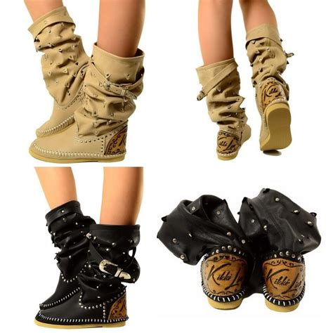 damen indianer stiefel boots ibiza boots made in italy