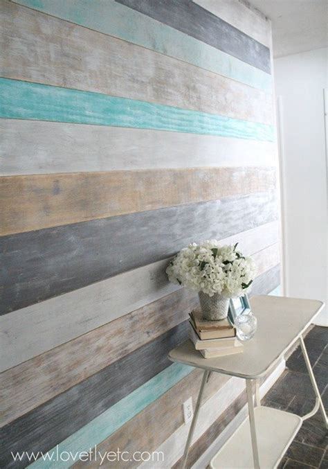 plank a wall diy painted plank wall lovely etc