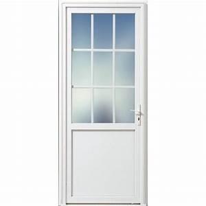 Porte De Service Aluminium : porte de service pvc 9 carreaux ~ Dailycaller-alerts.com Idées de Décoration