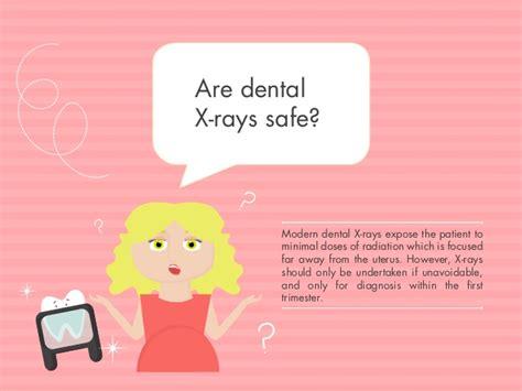 pregnancy oral health dental rays pregnant nhs care