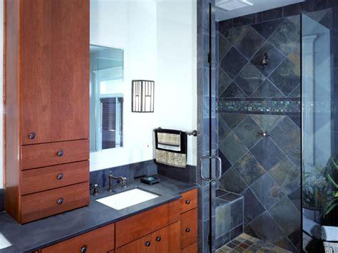 diy bathroom shower ideas 10 stylish bathroom storage solutions hgtv