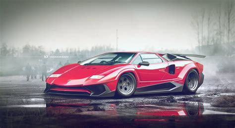 Lamborghini Countach Sv Sparks Mixed Emotions Carscoops