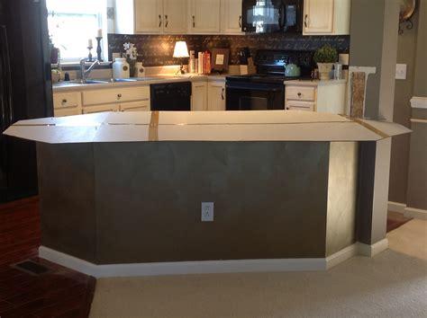 kitchen island countertop overhang diy home improvement ikea butcher block countertops