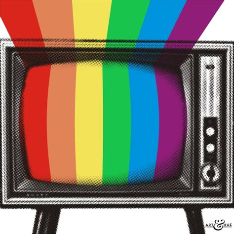 TV Colour - Stylish Pop Art - Bespoke & Custom Art   Art & Hue