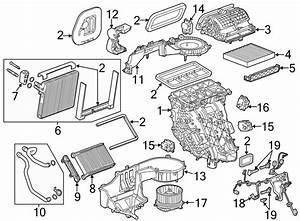 Chevrolet Impala Hvac Air Inlet Door Actuator  Hvac Blend
