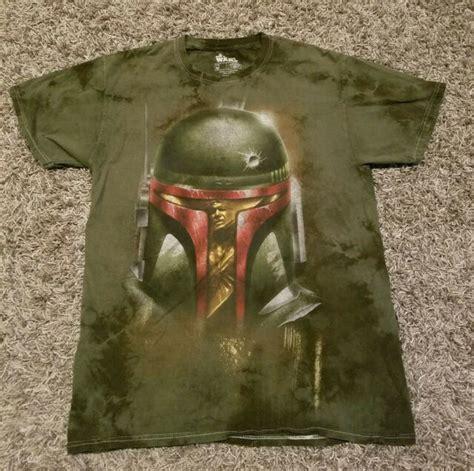 Star Wars Boba Fett Han Solo in Carbonite Tie Dye T-Shirt ...
