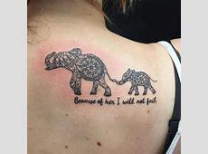 Tatouage Elephant Famille Tattooart Hd