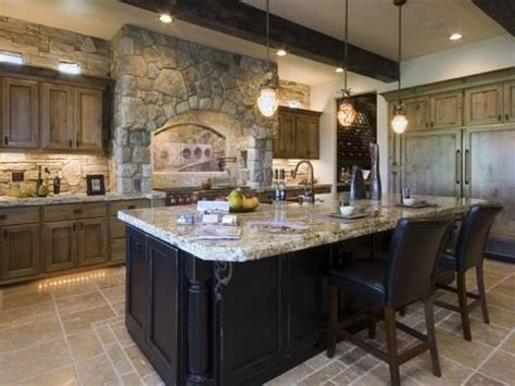 kitchen cabinets not wood wood cabinets black island i d stain 6255