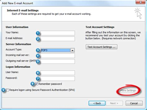 Configure Outlook With An Outlook.com (hotmail), Gmail