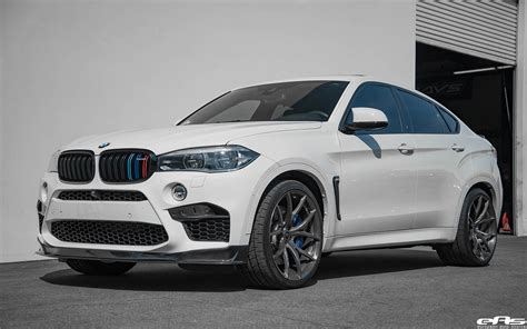 Alpine White Bmw X6 M With Ac Schnitzer, Akrapovic, Rkp