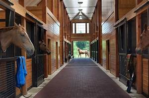 stable style aisle envy horses heels With brick horse barns