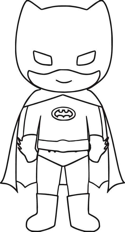 cool bat superhero kids coloring page wecoloringpage