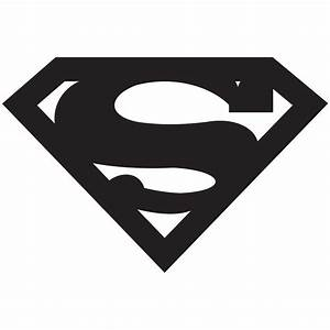 Related Pictures Superman Logo White And Black Superman ...