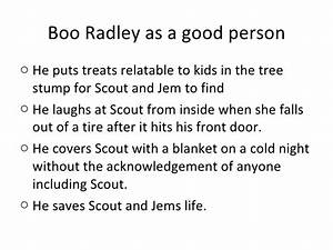 Good And Evil I... Boo Radley Mysterious Quotes