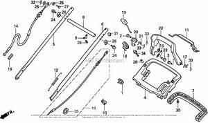 Honda Hrb215 Pxa Lawn Mower  Usa  Vin  Mzba