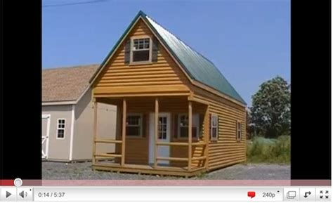 shed    acts   small log cabin