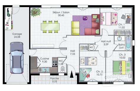 pavillon de plain pied d 233 du plan de pavillon de plain pied faire construire sa maison