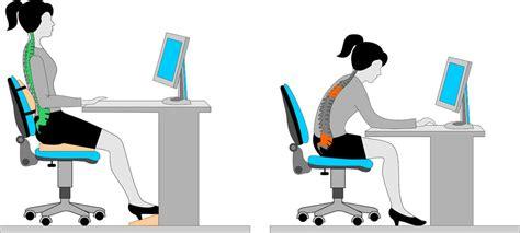 posture au bureau office ergonomics can your a in the neck