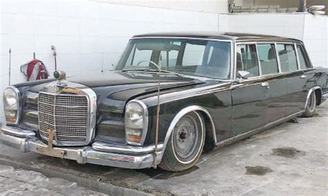 I was financing through my bank. PM cancels auction of historic Mercedes Benz 600 Pullman ...