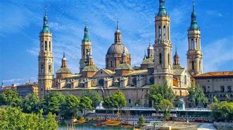Cathedral Basilica Of Our Lady Of The Pillar Zaragoza