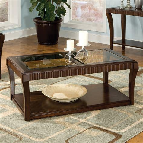 Home » handmade glass top coffee table » wood coffee table with glass top. Standard Furniture Malibu Rectangular Dark Chocolate Wood and Glass Top Coffee Table at Hayneedle