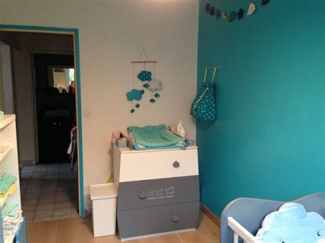 chambre b b bleu canard davaus chambre grise et bleu canard avec des idées