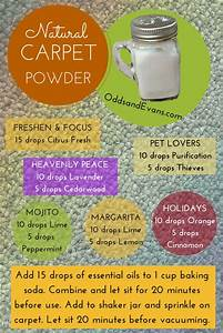 Homemade Carpet Powder