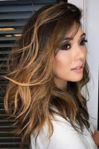 Beautiful Brown Hair by 25 Beautiful Brown Balayage Hair With Caramel Colors