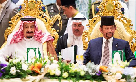 kings brunei visit  boost ties ambassador arab news