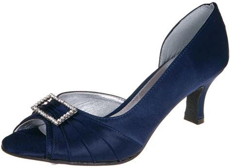 Navy Occasion Shoes Lexus Christina Z031