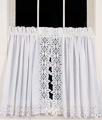 battenburg lace tier curtains ideas for home