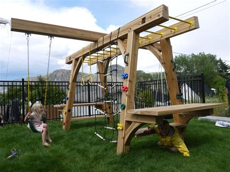 Backyard Play Structure by 25 Unique Play Structures Ideas On Play