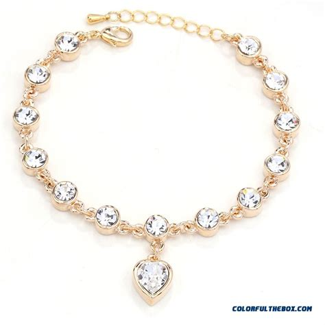 Cheap New Cheap Wholesale Color Retention Crystal Bracelet