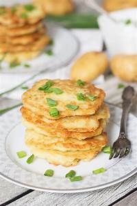 Polish Potato Pancakes - w/ Sour Cream & Chives