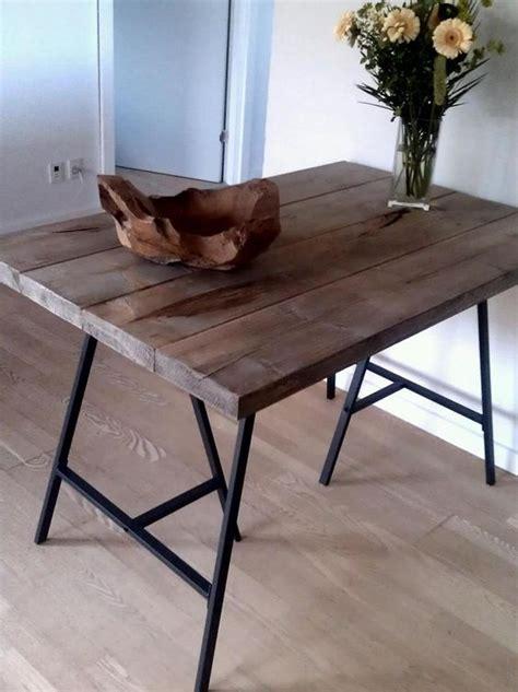 Ikea Desk Legs Nz by Dining Table Legs Are Ikea Lerberg Diy By Me