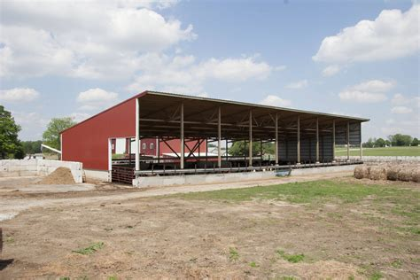 Cattle Barns Designs by Argos In Monoslope Beef Barn Summit Livestock Facilities