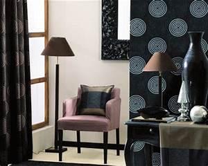 Heytens Collection 2017 : papier peint galets noir d 39 heytens ~ Nature-et-papiers.com Idées de Décoration