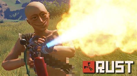 rust toxic server burning down kid