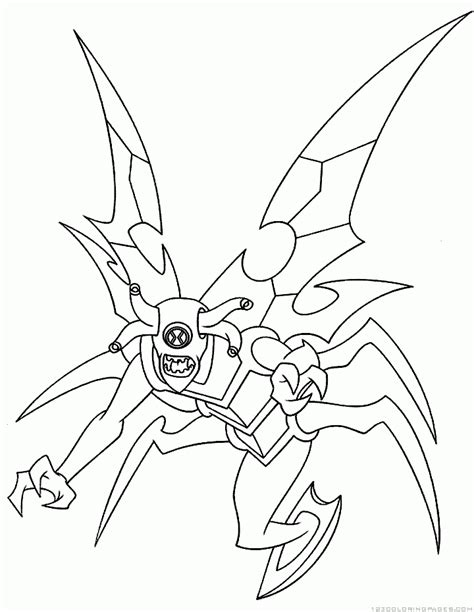 ben coloring pages