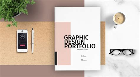 Portfolio Template Graphic Design Portfolio Template