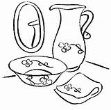 Bathroom Washing Coloring Pages sketch template